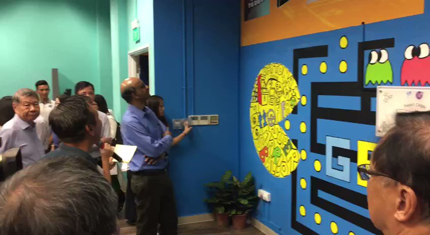 Games centre at NorthLight School for students to hang out 'in safe environment'