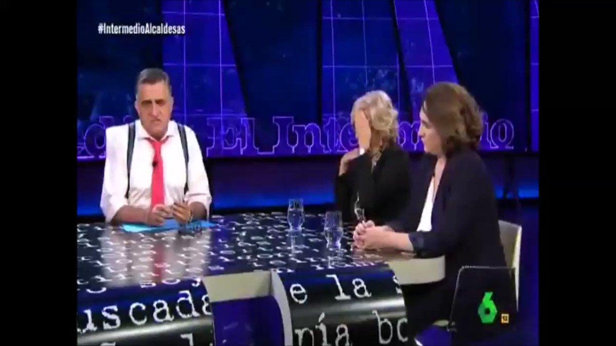No os perdáis la segunda parte de la entrevista a @manuelacarmena y @adacolau en @el_intermedio. #Asamblea24S