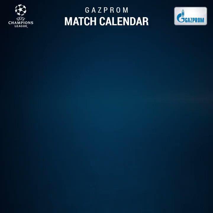Tuesday's #UCL fixtures! ��️ @GazpromFootball match calendar ➡️ https://t.co/zuMGUnHEja Best match? https://t.co/JSc72ETY0G