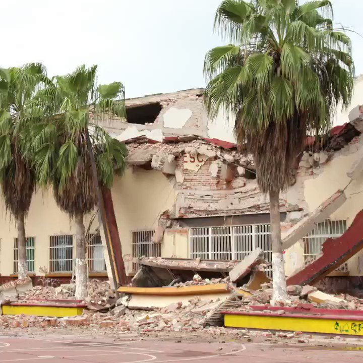Education at risk for thousands of children after successive earthquakes in #Mexico https://t.co/K1mXDWDYVU