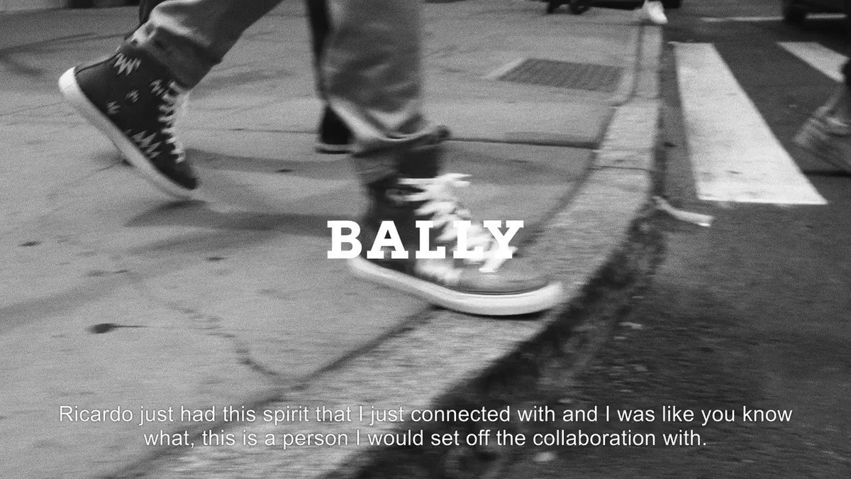 👋 #BallyxSwizz has landed. View the full film and shop the collection: https://t.co/dVlQHSkwYZ https://t.co/9D1eTnDblK