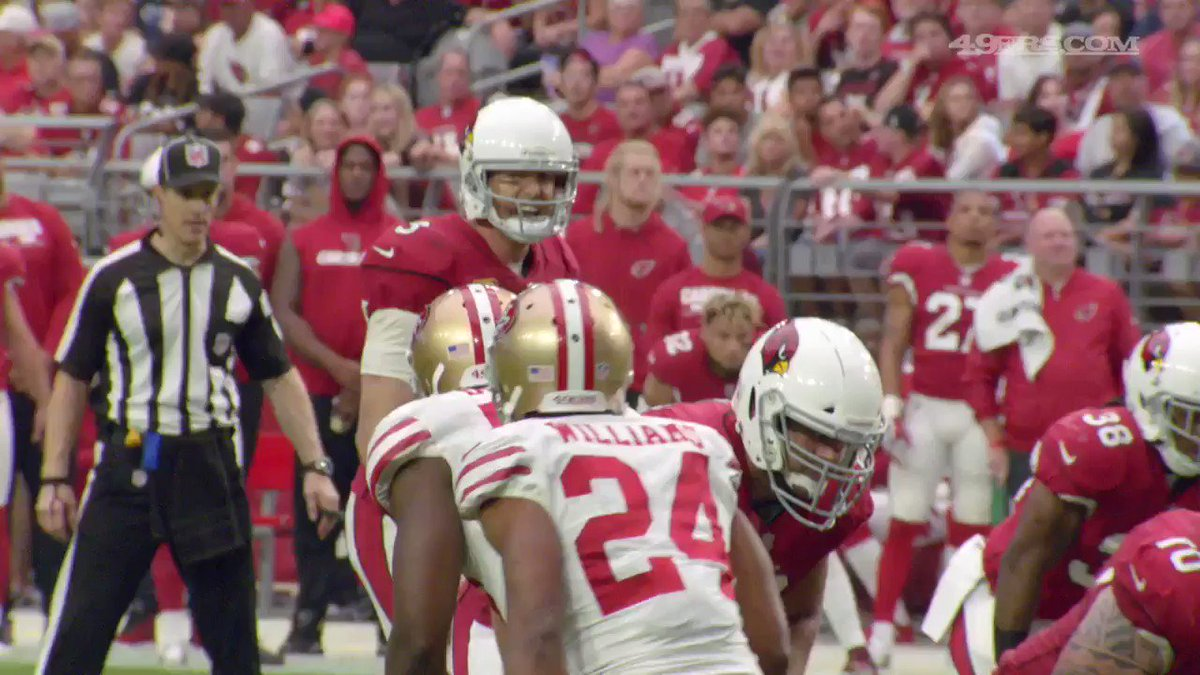 Sights and sounds from the 49ers sideline following @DeForestBuckner's sack in Arizona. �� https://t.co/388yVPfuPs