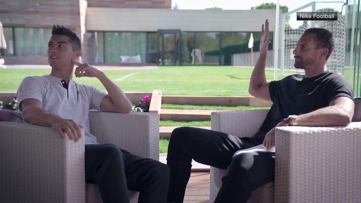 Cristiano Ronaldo has taught his boy well.  Full video: https://t.co/LJeqxZJCVh https://t.co/sW3gBCLHFe