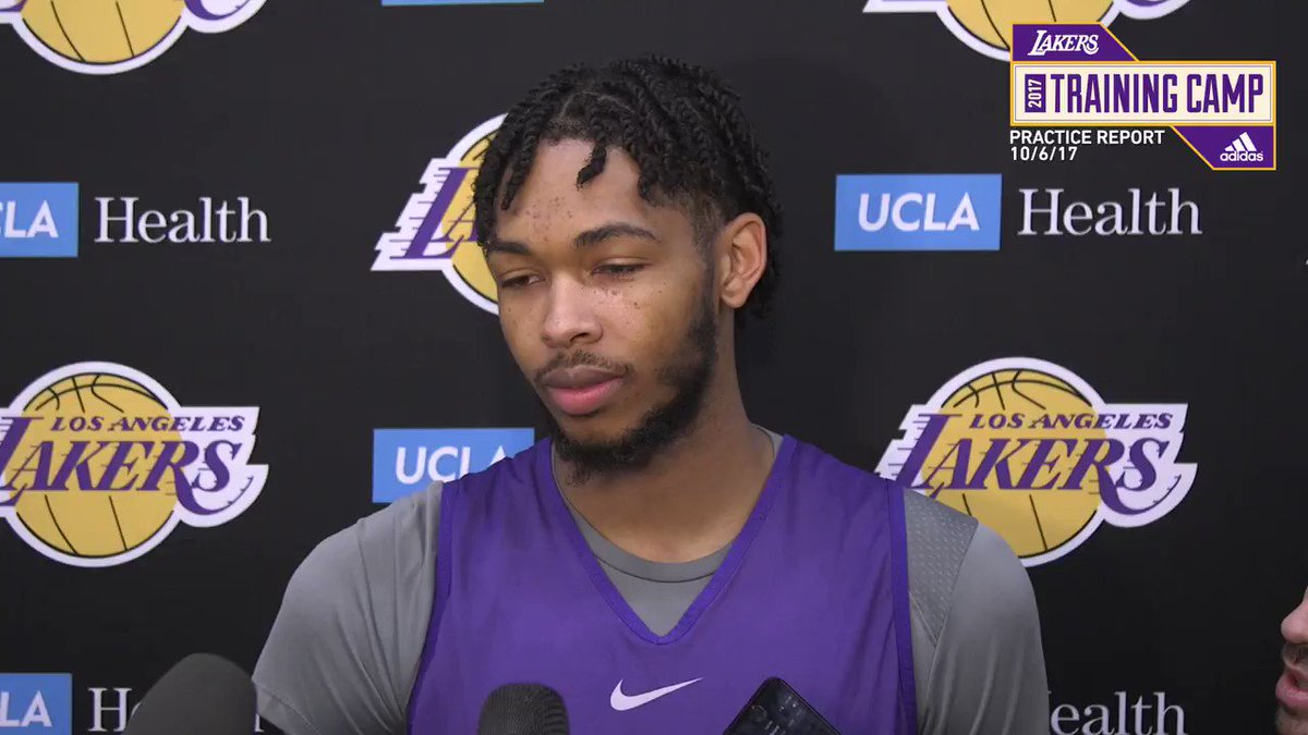 �� Brandon Ingram discusses how he feels after returning to practice with a full day on Friday. https://t.co/eew3F6fWfP