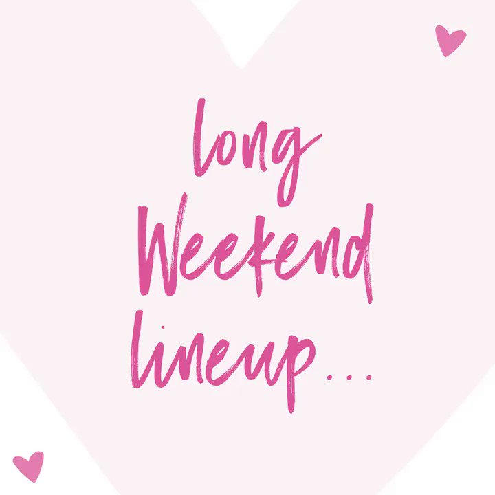 One long weekend. So many deals. ???????? only. https://t.co/4eMEsYqVwK https://t.co/pIFloeaBiL