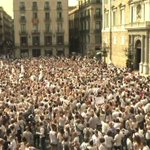 Spain protesters demand action on Catalonia crisis