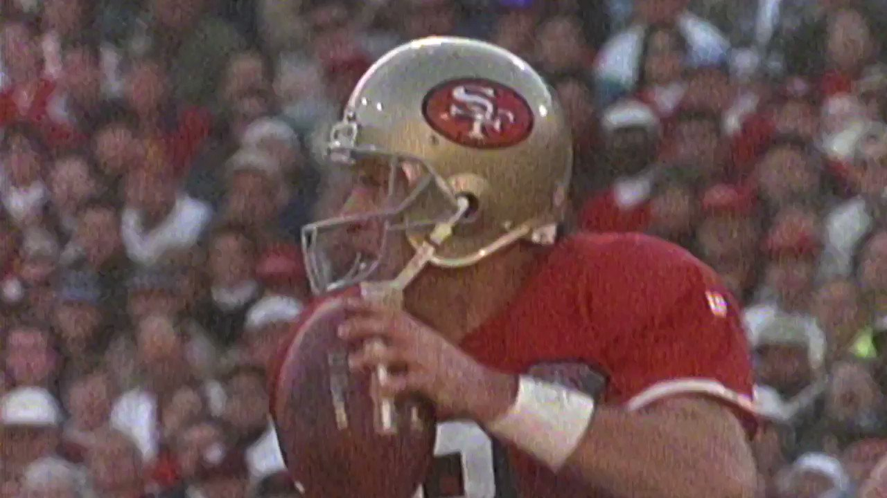 The only man to wear in the red and gold. Happy birthday Steve Young!