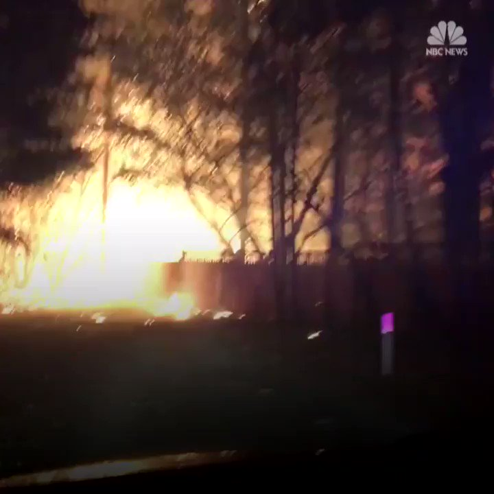 WATCH: A sheriff's deputy from Sonoma county drove through California wildfire recording damage. https://t.co/VJdBLxMC7z