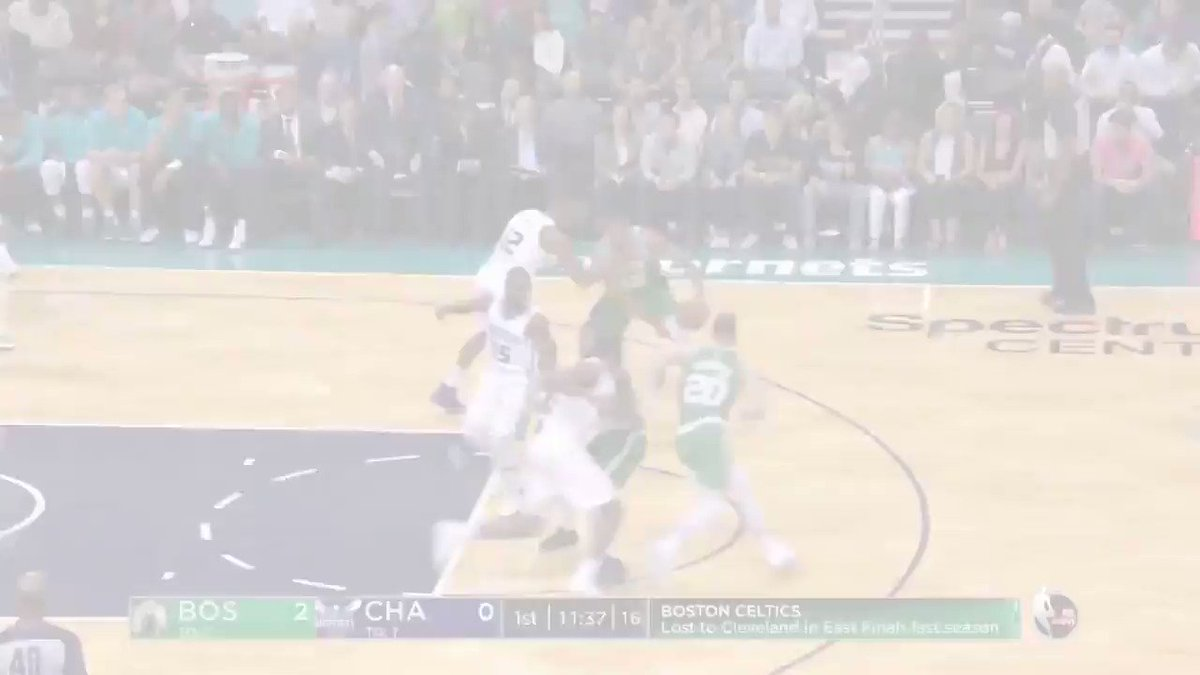Kyrie Irving, Gordon Hayward, & Al Horford combine for 44 in last night's @Celtics' #NBAPreseason action. https://t.co/6jVRMsYUEK