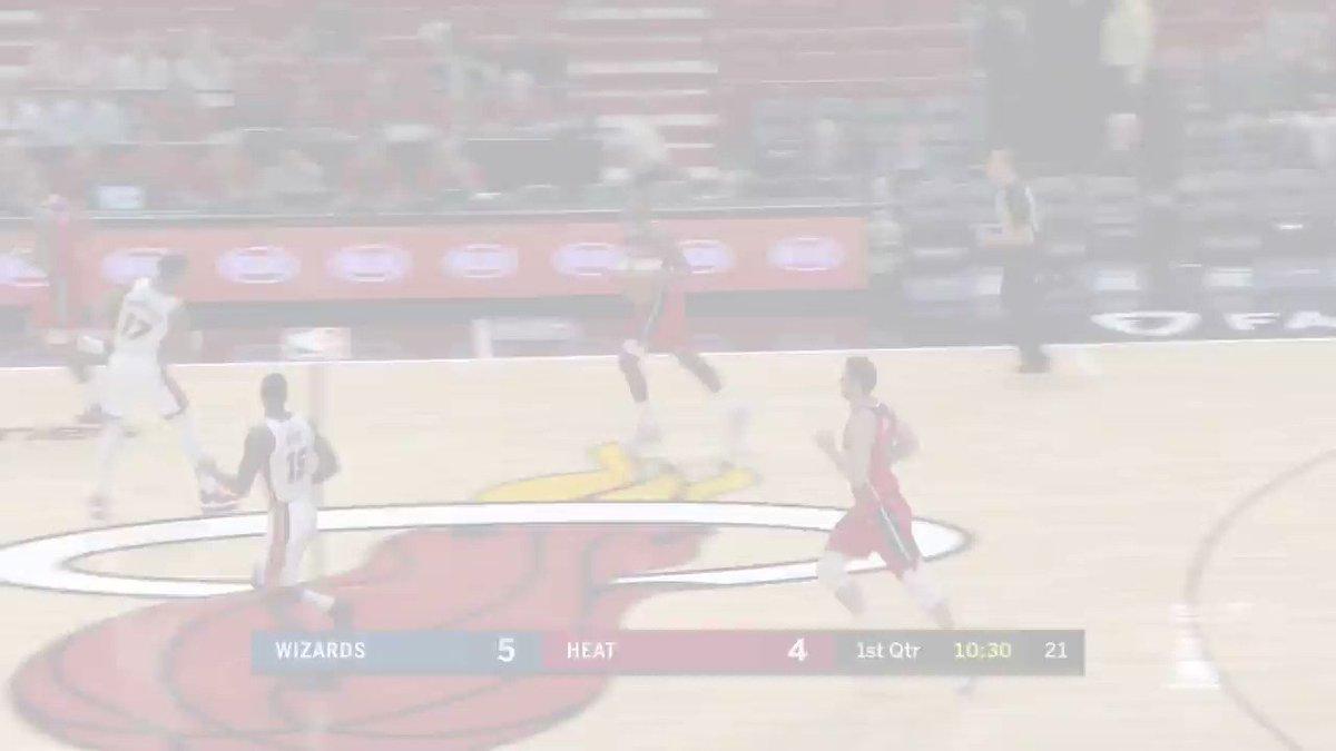John Wall & Bradley Beal combine for 31 in last night's @WashWizards' #NBAPreseason action. https://t.co/UnCDNq3WSo