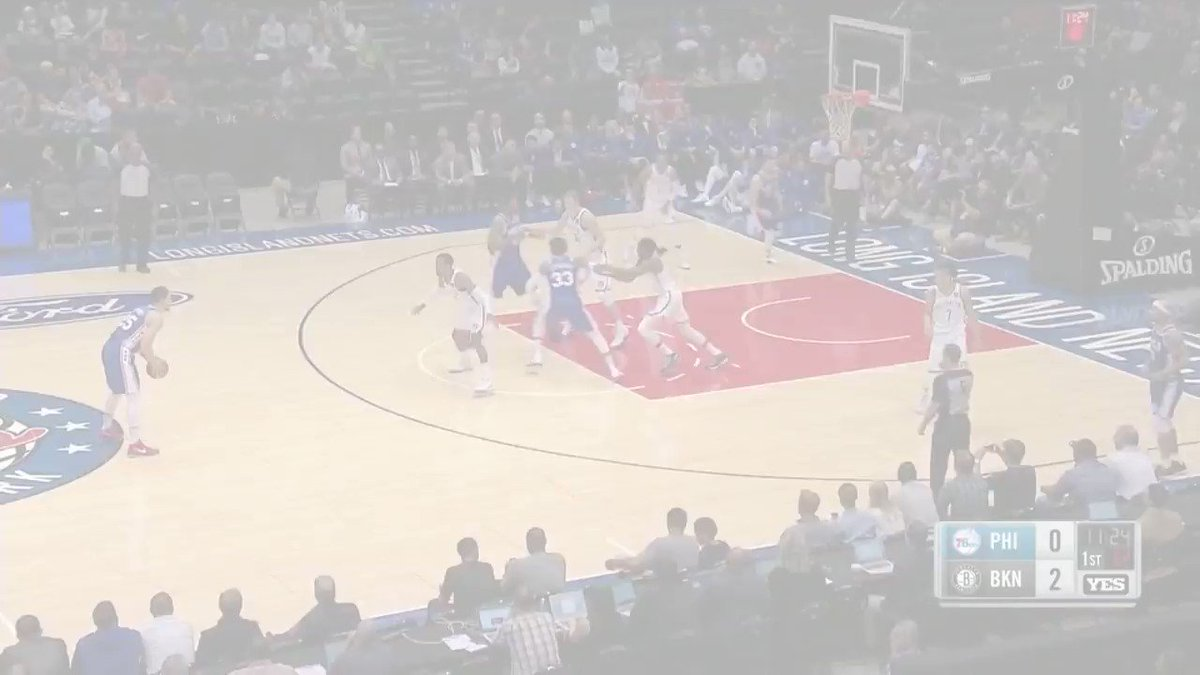 22 points, 7 rebounds, 3 assists and 1 block in 14 minutes for @JoelEmbiid in his @Sixers #NBAPreseason debut. https://t.co/FLiWNEZhFY