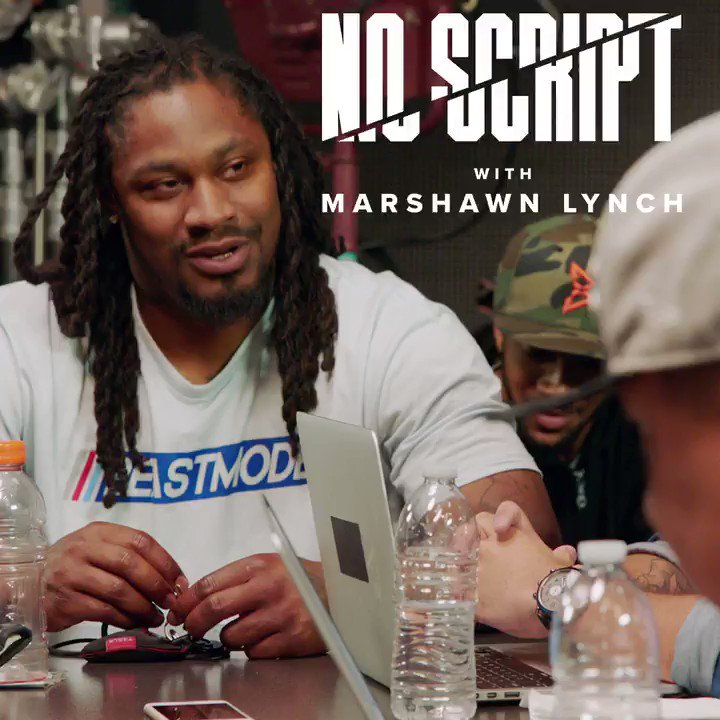 Marshawn is a national treasure �� https://t.co/GnwOgCdCbD