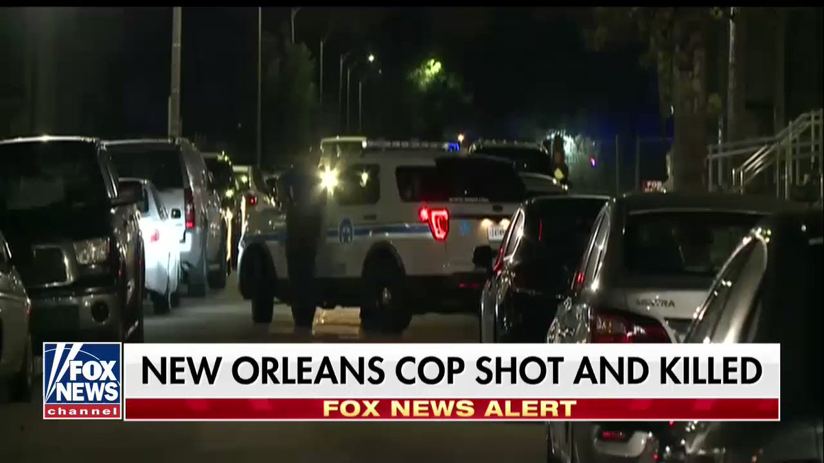 New Orleans Cop Shot and Killed https://t.co/0jxBj5dBYL https://t.co/IbIBbK4oSA