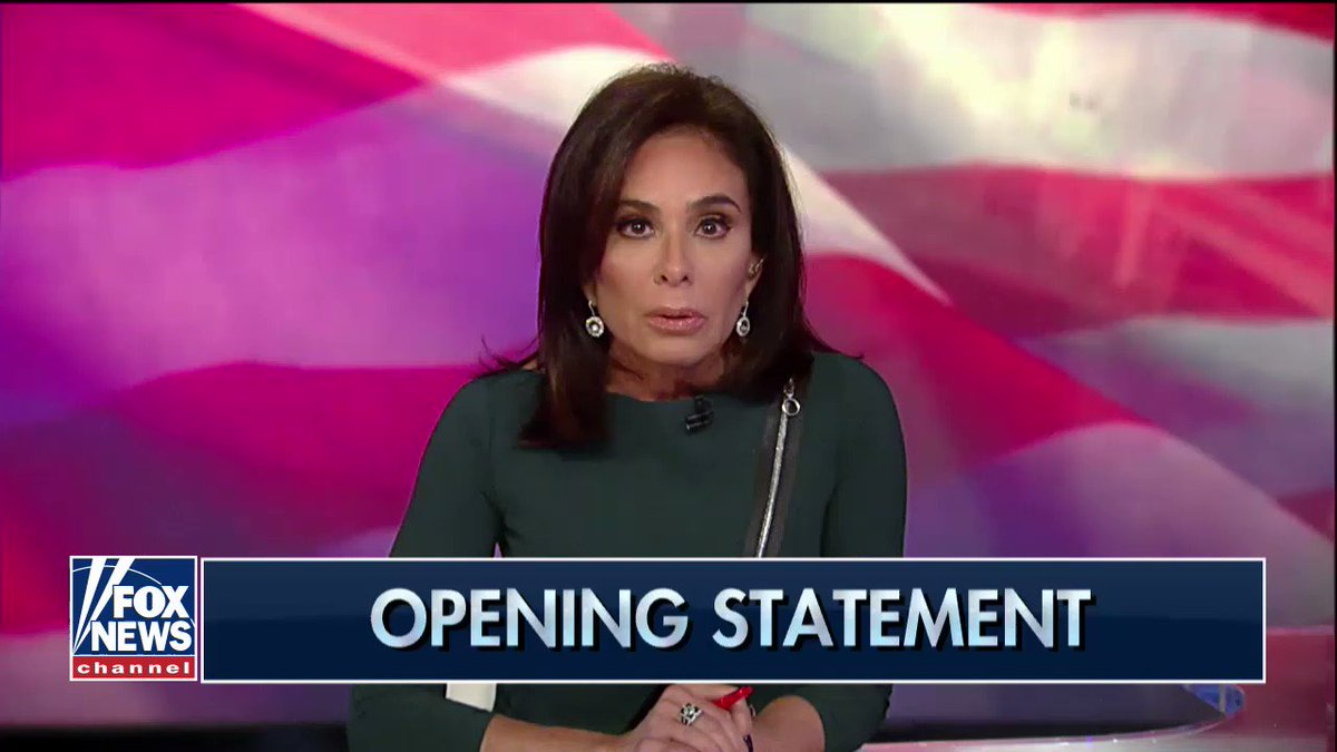".@JudgeJeanine: ""Hollywood's been steeped in hypocrisy for decades."""