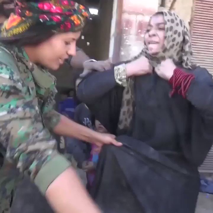 These women are finally free of ISIS and are ripping off their burqas! via @MailOnline https://t.co/RlXsE7zQLl https://t.co/hTxQfoWBkj
