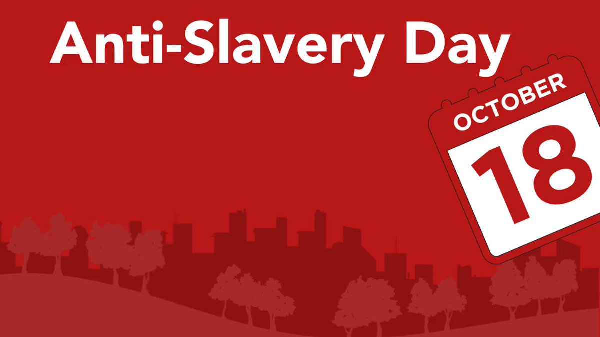 Today is #AntiSlaveryDay. Find out more about #modernslavery and how to report it: https://t.co/KOo9wefu1s https://t.co/rhrZPgjCNI