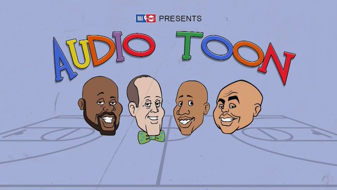 #InsidetheNBA presents Audio Toon: Tales from the Steam Room 😂 https://t.co/c4AacyO9QS