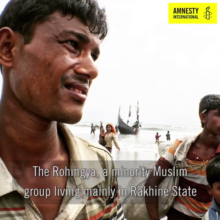 WATCH: Who are the Rohingya people and what is happening in Myanmar?  Take action → https://t.co/uI1iBtXklO https://t.co/0pC92WBpQr