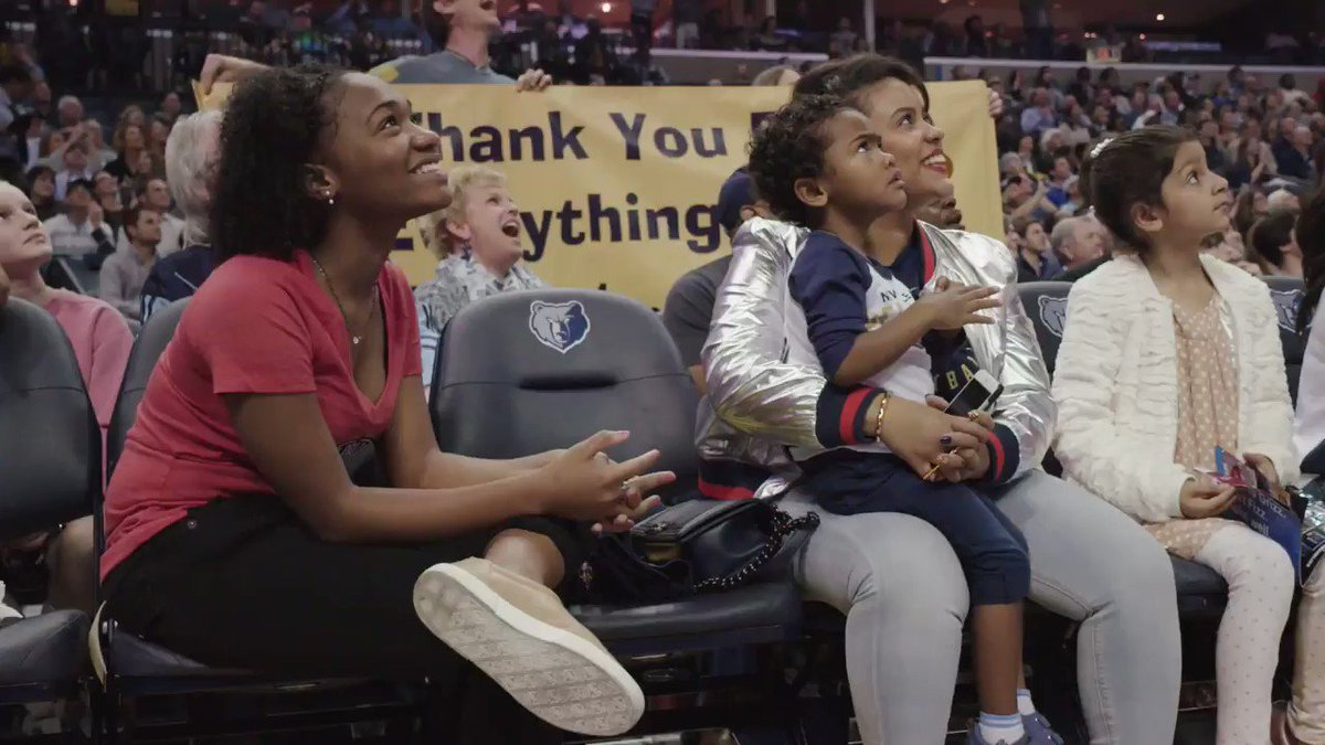 RT @memgrizz: Tonight was emotional for everyone. #GritGrindForever https://t.co/jXdJf4ObSt