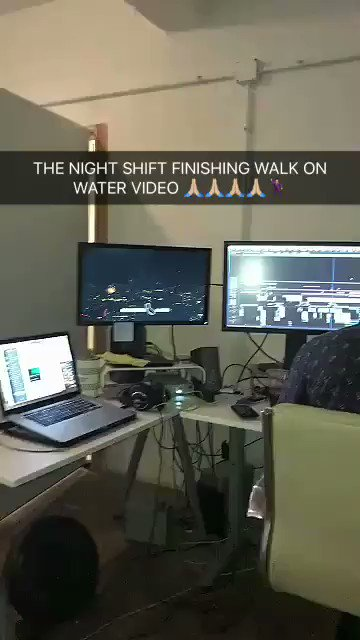 The #WalkOnWater Night Shift. https://t.co/AiK9iNJqKB