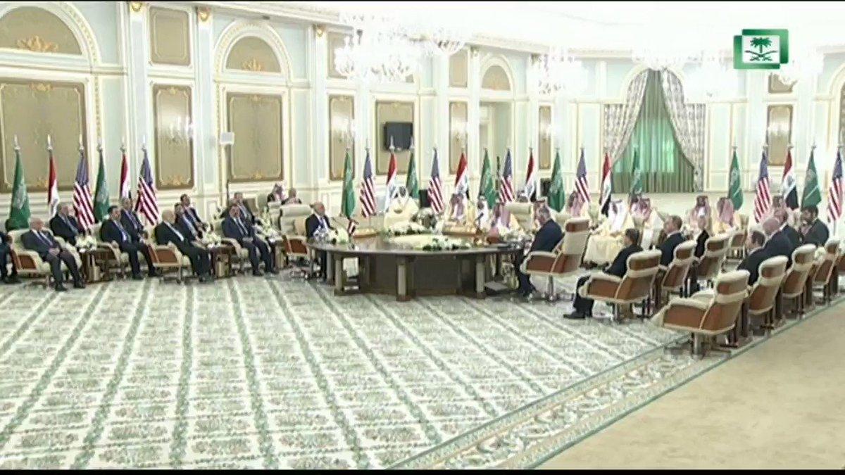 RT @AjelNews24: #فيديو 🔴  . . شاهد كلمة #خادم_الحرمين_الشريفين في #مجلس_التنسيق_السعودي_العراقي .  . .  https://t.co/VapFE27Lxk
