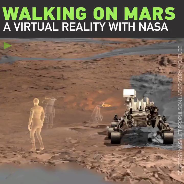 Armchair astronauts: WALK AROUND on desolate Mars trails with NASA's new VR project