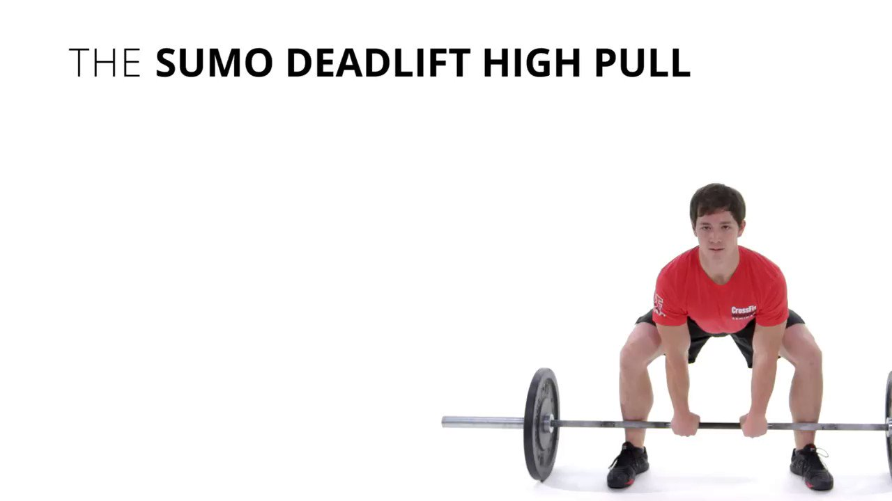 Points of performance of the sumo deadlift high pull. https://t.co/xBFPn6gAEz
