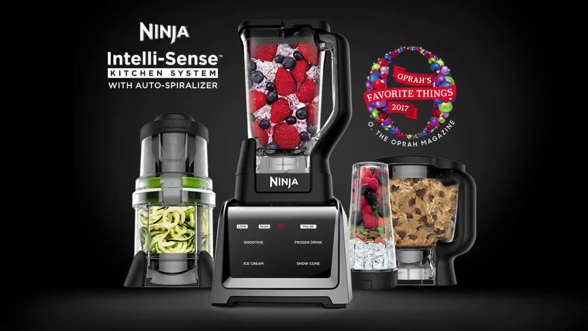 RT @NinjaKitchen: We're so excited to be a part of #OprahsFavoriteThings list this year! https://t.co/jDlY6RqtRP