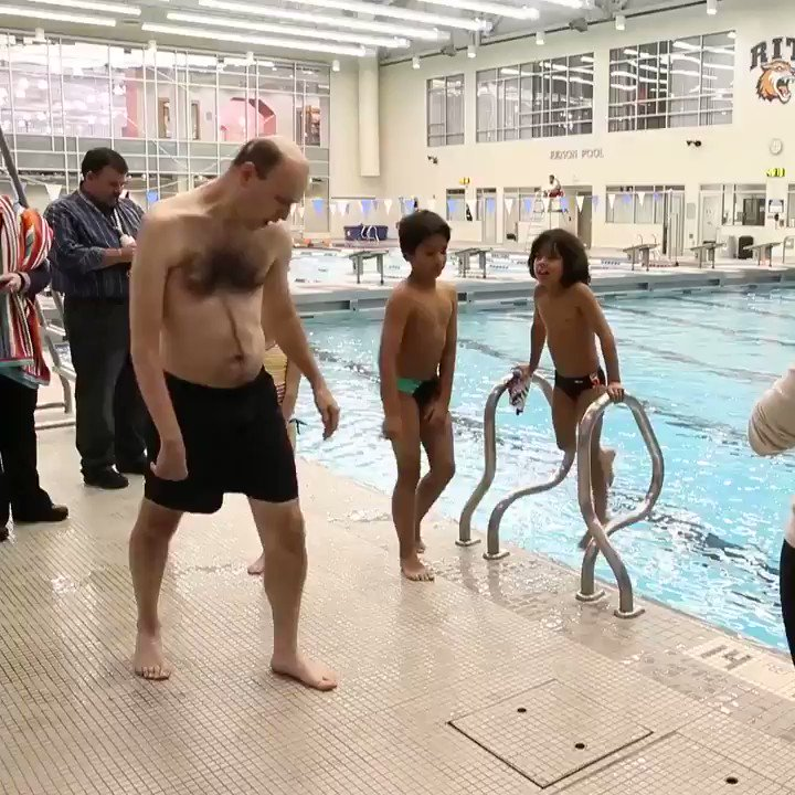 Seeing him at the end of the diving board has us on the edge of our seats! Via @DandC https://t.co/SkvwbF6xpJ