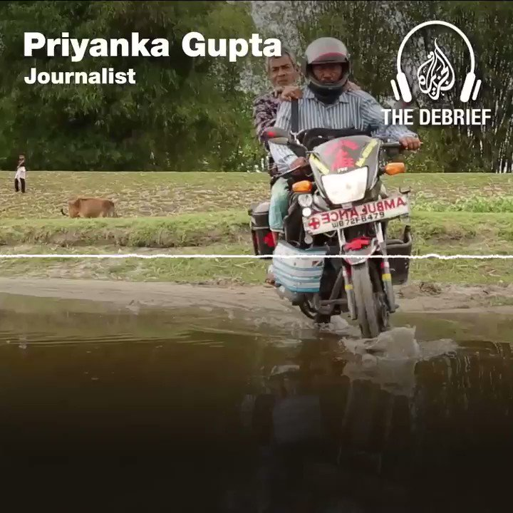 Podcast ?: How one man on a motorcycle in India is saving thousands of lives