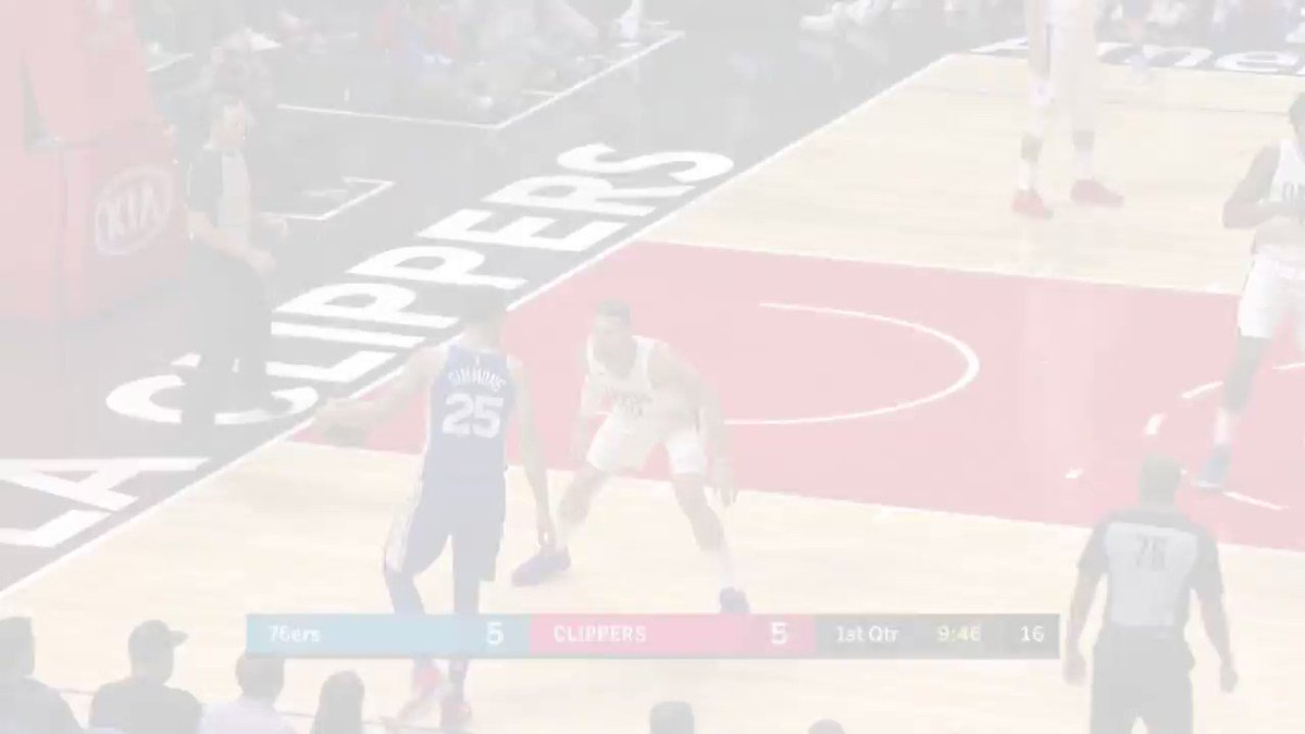 Joel Embiid (32p, 16r, W) and Blake Griffin (29p, 6r, 5a) duel in L.A. https://t.co/FVbYThaS7w