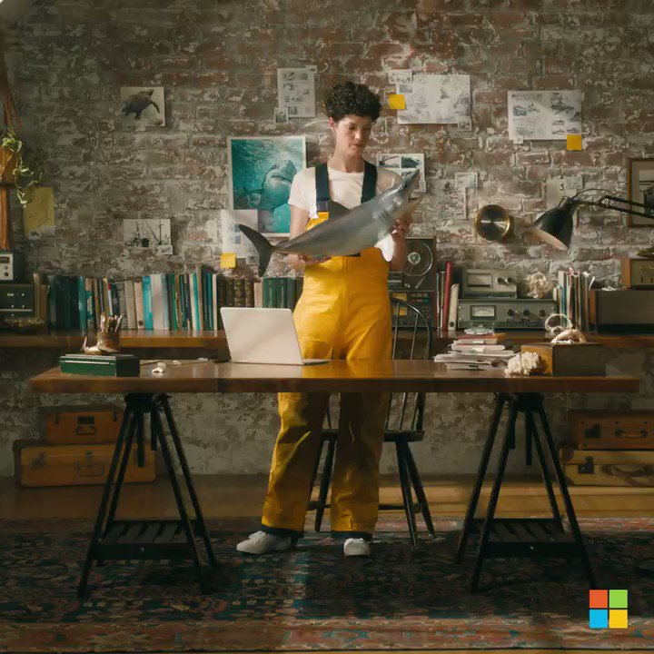 Meet children's author Katherine Roy and Paint 3D. Windows 10 PCs do more. Just like you. https://t.co/9rBWEn5KPV https://t.co/M7yAcsYVqg