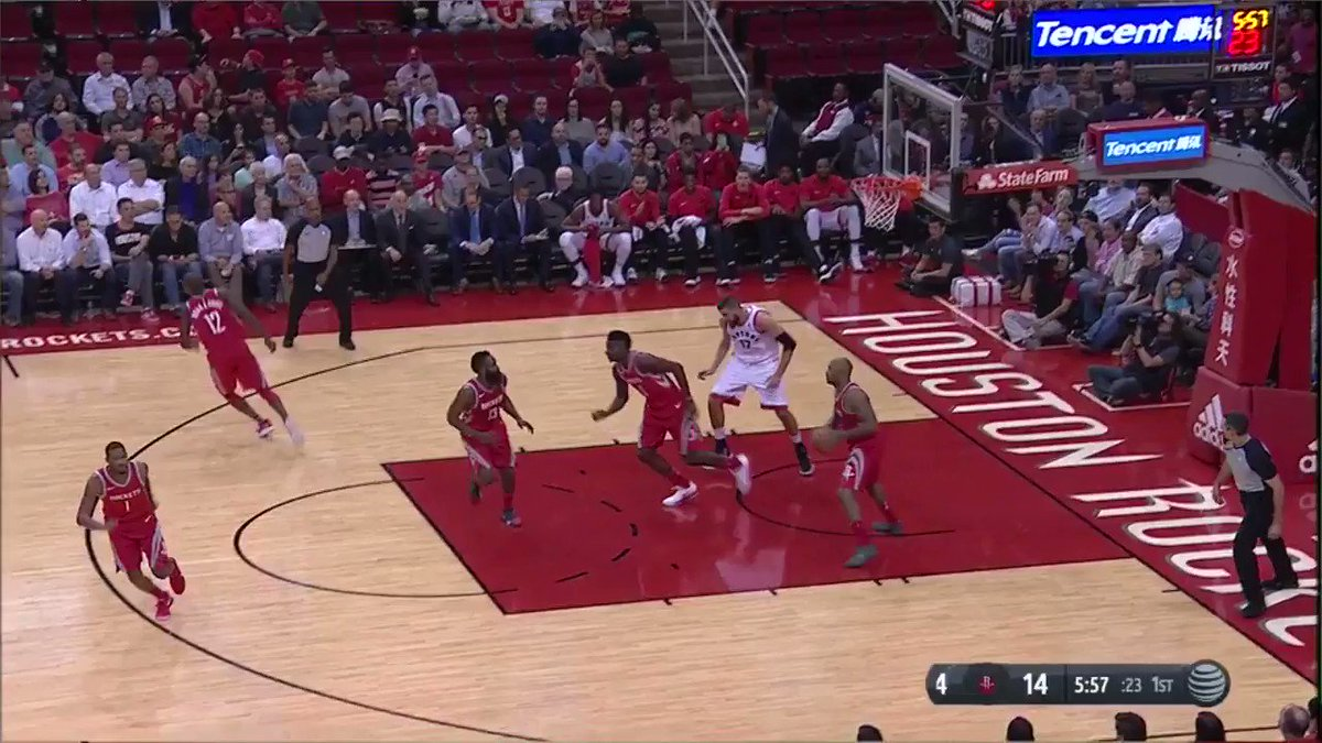 James Harden with the smooth finish to the rack on @NBATV! https://t.co/m5jQexUck6