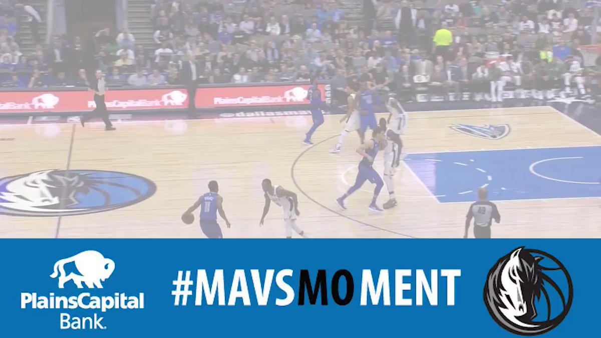 Wesley alley's then DSJ's oops! This dunk by DSJ is tonight's @PlainsCapital #MavsMOment of the game! #MFFL https://t.co/TiPh7fWcyh