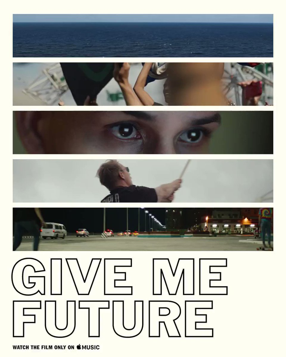 Experience a cultural movement with @majorlazer's #GiveMeFuture. Only on Apple Music. https://t.co/rNdKEGHH4R https://t.co/pBMtCmt1yM