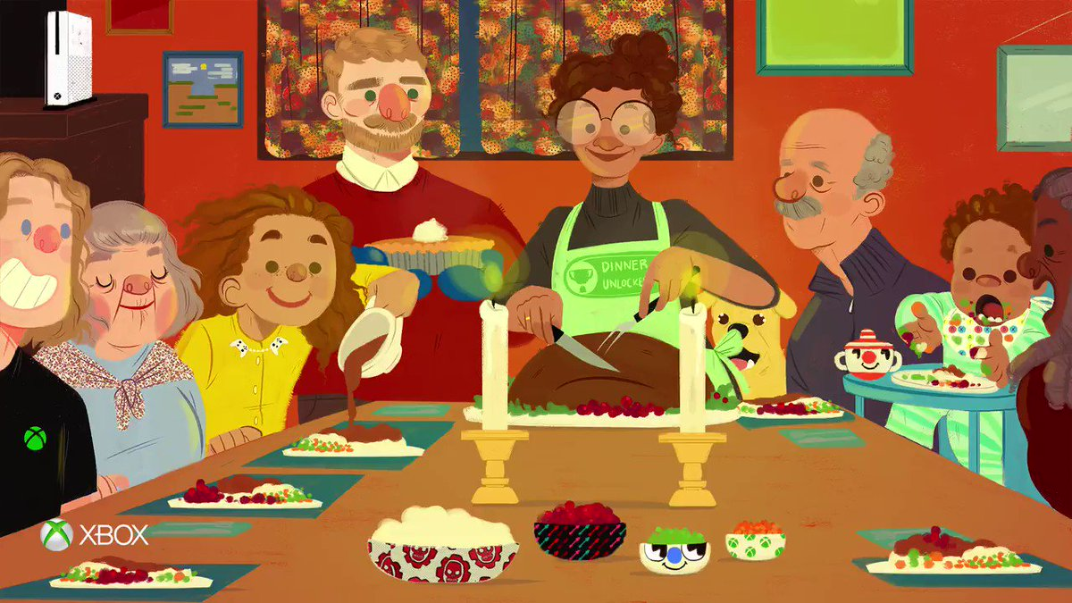 #Thanksgiving PSA be sure to hit pause for family time. (And mashed potatoes.)