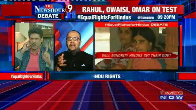 .@LalitAmbardar, Activist, says Hindus have been denied rights in Jammu & Kashmir #EqualRightsForHindus