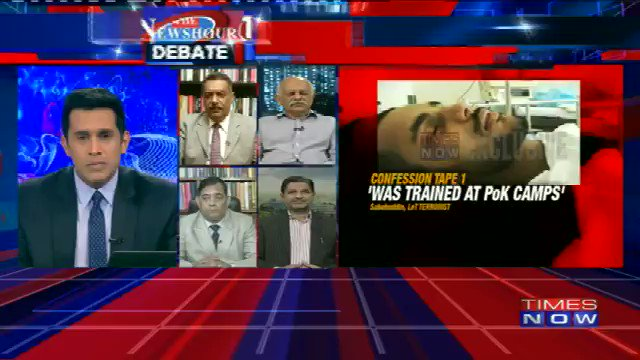 Maroof Raza, Consulting Editor, Times Now speaks on #HafizSaeedConfessions