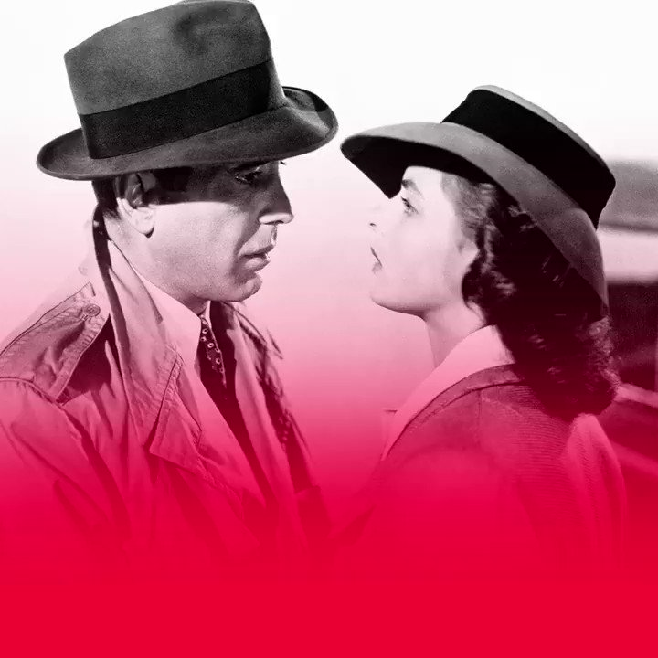 Here's looking at you, kid. 75 Years of Casablanca. #FilmHistory https://t.co/rBvP3TCm3l