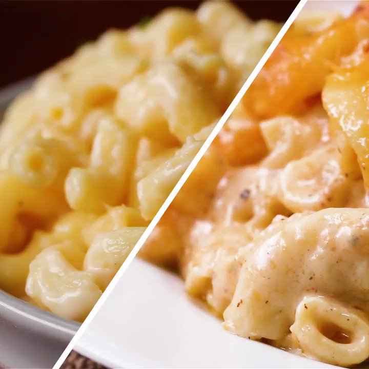 Which mac n cheese would YOU choose? 🧀 https://t.co/rcNOd8OAzU