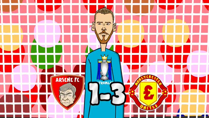 Happy Birthday David De Gea...was this his best ever game for Man United?