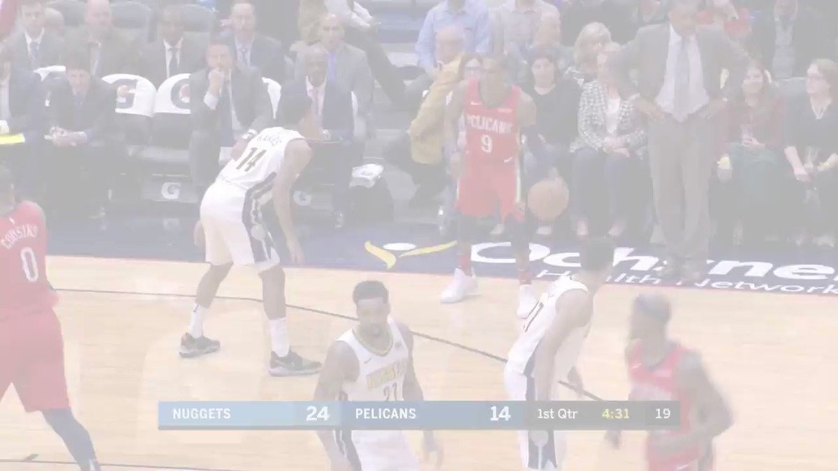 #DoItBig  @boogiecousins puts up 40 points & grabs 22 boards to lead the @PelicansNBA! https://t.co/V6eSoqzovz