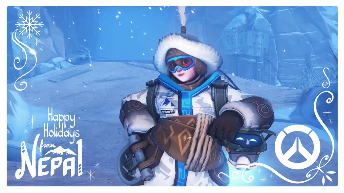 Who's YETI to start a blizzard?  Overwatch Winter Wonderland returns December 12!  ☃️ https://t.co/LObEQXTO2F https://t.co/9aTgG7lPIA