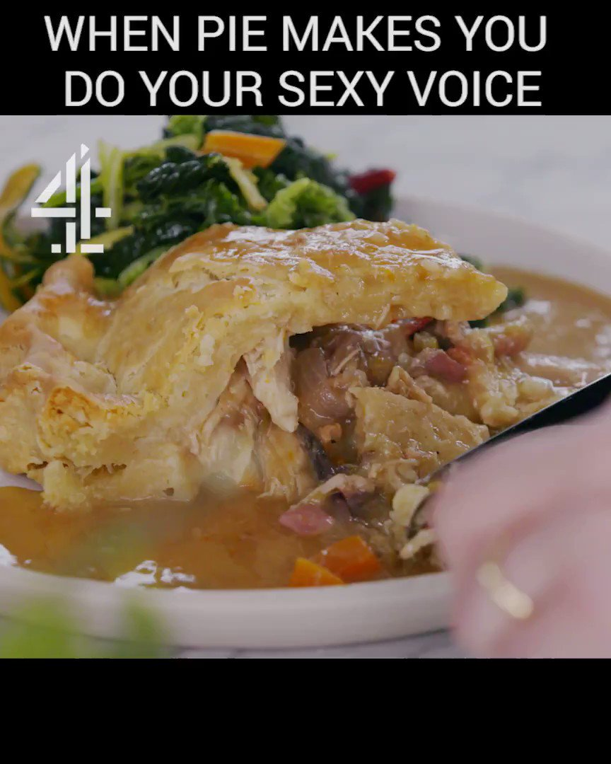 RT if a good pie also makes you do your sexy voice #FridayNightFeast https://t.co/dWnLBXrvtj