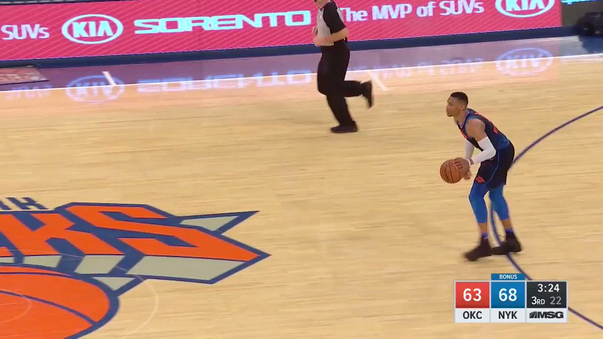 On @NBATV...  Russell Westbrook punishes the rim! https://t.co/z58Kyo9xzz