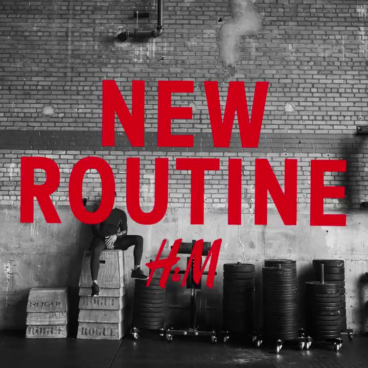 Check out @rynosaurusflex in our new upcoming sportswear campaign #newroutine #HMSport https://t.co/or8KA1x09A https://t.co/9OFaI9dvvX