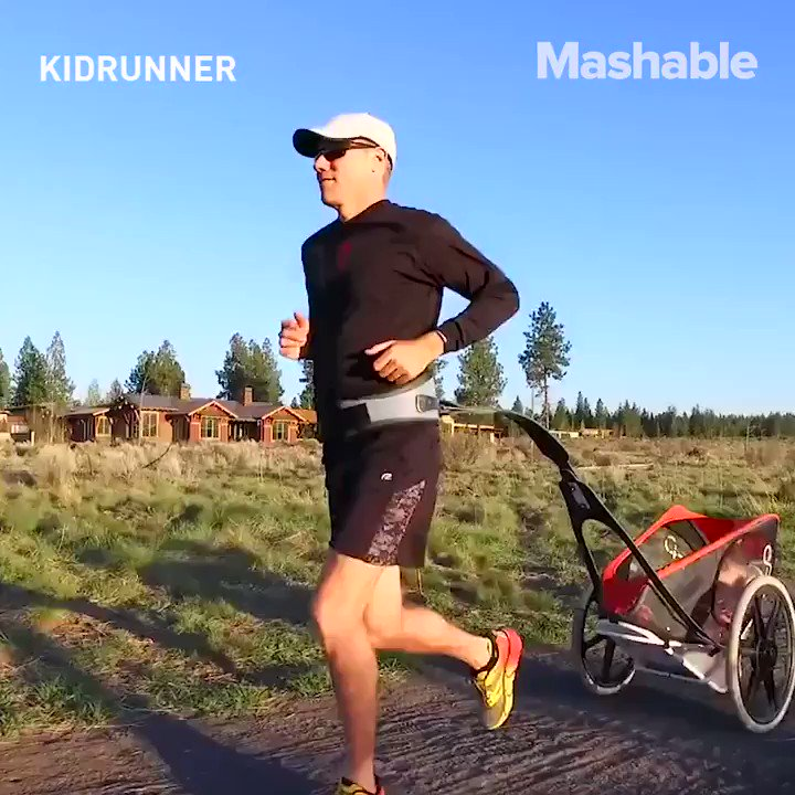 Entertain your kid and get a workout at the same time with this reinvented stroller https://t.co/yeYLSvswNn