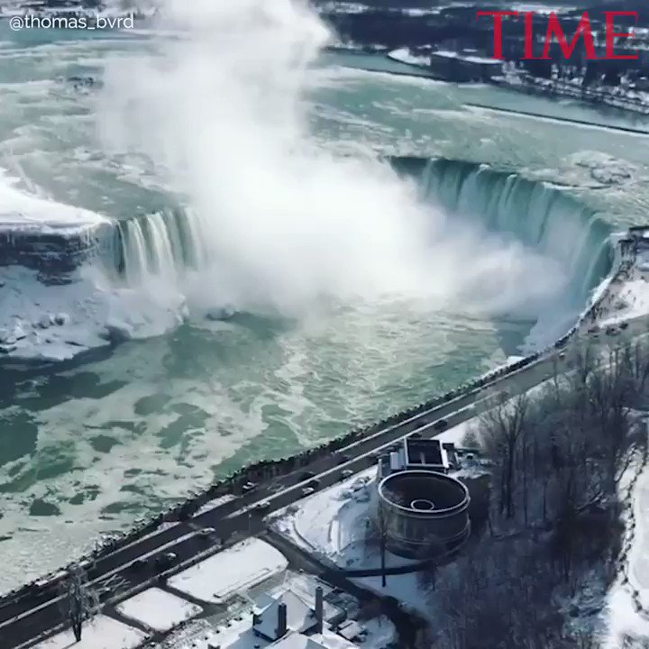 'Absolutely beautiful.' See Niagara Falls covered in ice https://t.co/L8Mwgl4wQL https://t.co/y3x7HEndB7