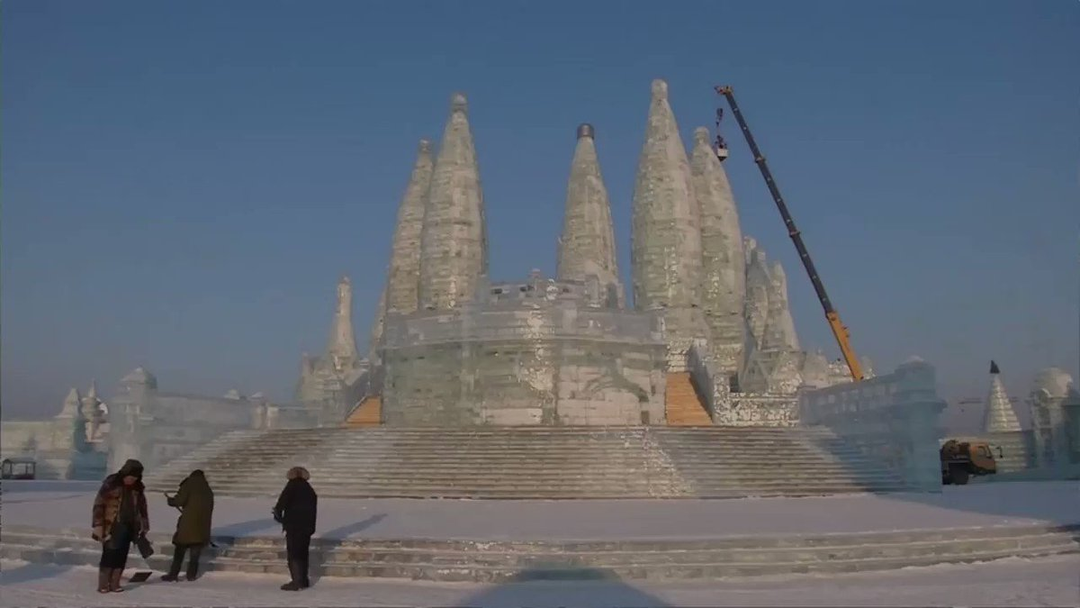 INSIGHT: China's 'ice city' gears up for a winter celebration. More from @ReutersTV: