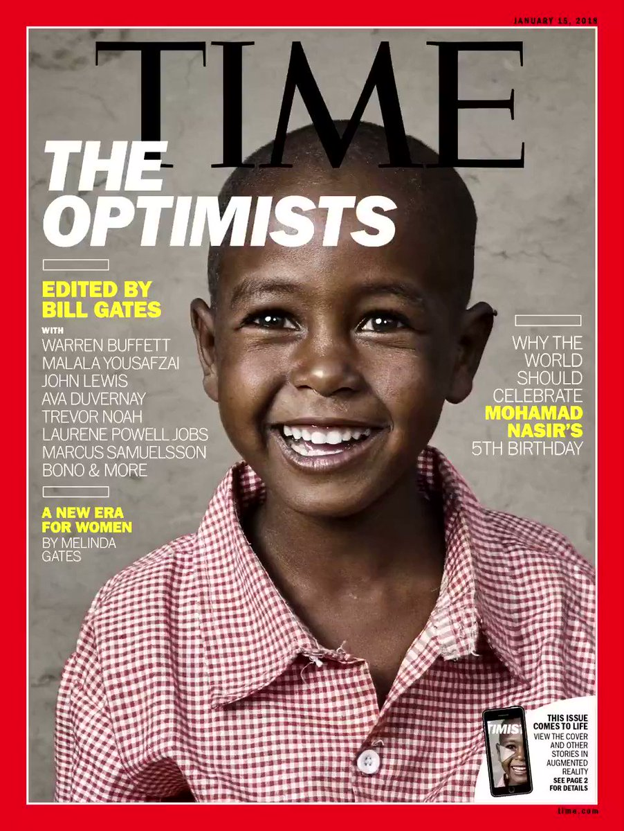 Meet the five-year-old boy Bill Gates put on the cover of TIME https://t.co/SmCUuTHuMa https://t.co/SEggsEPn6m